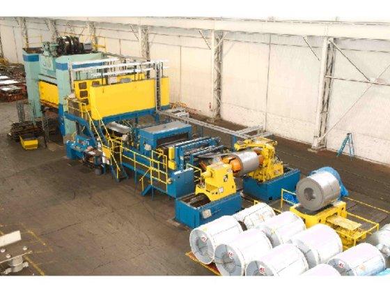 """500 ton Verson 186""""x108"""" Blanking"""