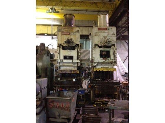 250 ton Niagara OBI Used