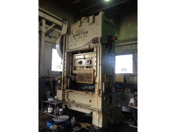 200 ton Minster P2 Used