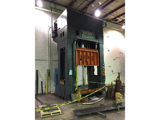 600 ton Watson Stillman Triple
