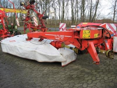 Kuhn FC 283 in Suldrup,