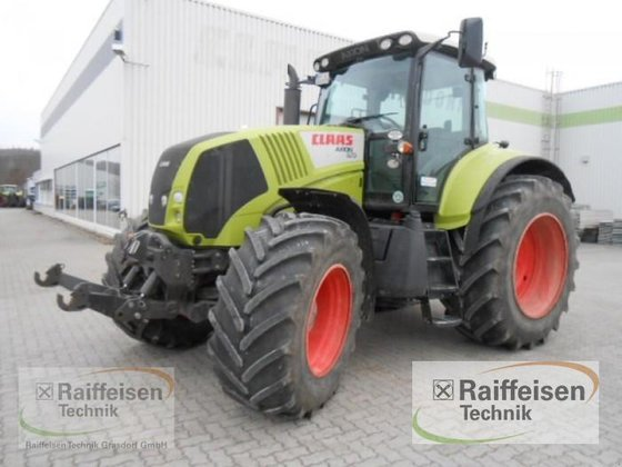 2010 Claas Axion 810 in
