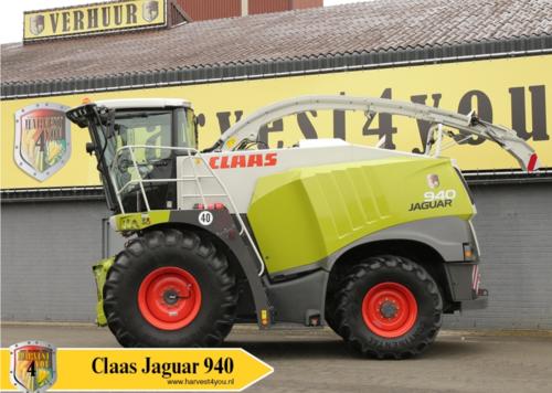 2014 Claas Jaguar 940 in