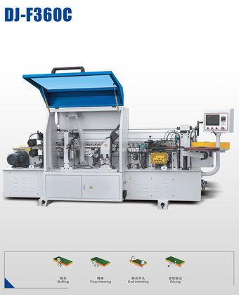 DJ-F360C automatic edge banding machine in Jinan, China