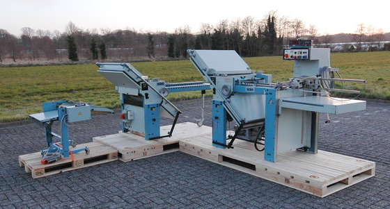 1985 MBO T49/44 Foldingmachine 8-pages