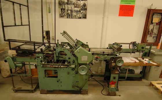 1962 Stahl K58/2K Foldingmachine 16-pages