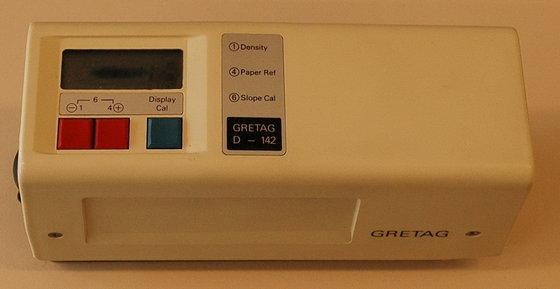 Gretag D-142 Densitometer in Heemstede,