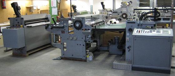 1984 Billhöfer MLK102 Laminating machine