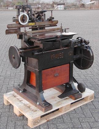 Krause Indexcutter Index cutting machine