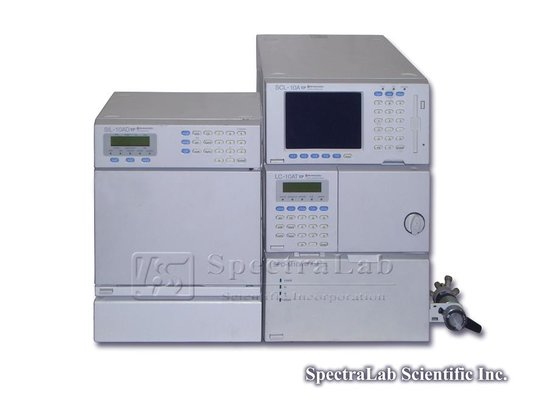 Shimadzu HPLC System with LC-10AT vp Pump, SCL-10A vp