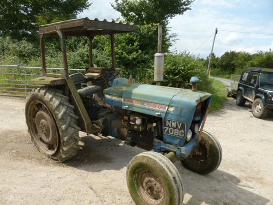 1970 FORD 4000 TRACTOR 2WD