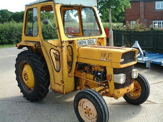 1973 MASSEY FERGUSON 20 Tractor