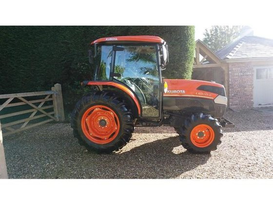 Small Tractor Top Link : Kubota l nd edition wd hp glide shift ll cab