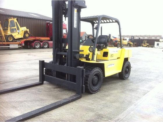 2003 HYSTER YALE GDP 80(8