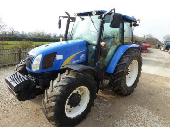 2009 NEW HOLLAND T5060 4WD