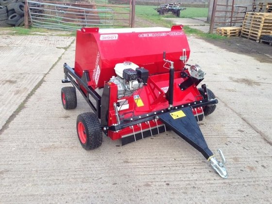 2016 LOGIC MSP120W Sweeper Collector/Horse