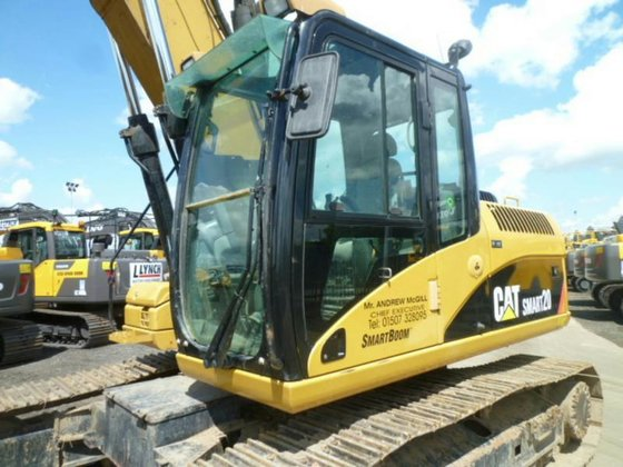 2008 CATERPILLAR 319D Diesel in