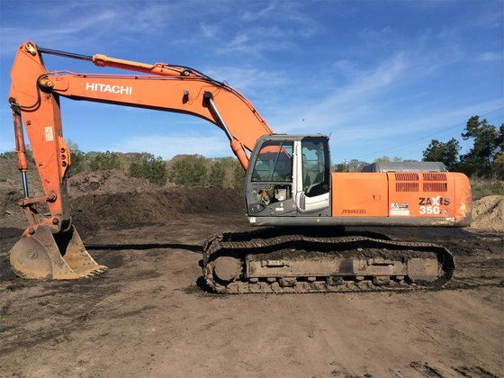 2007 HITACHI ZX350 LC-3 in