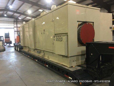 Solar Centaur Gas Turbine Generator in Woburn, MA, USA