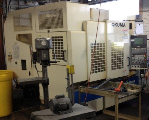 2000 Okuma MX-45VAE Vertical Machining