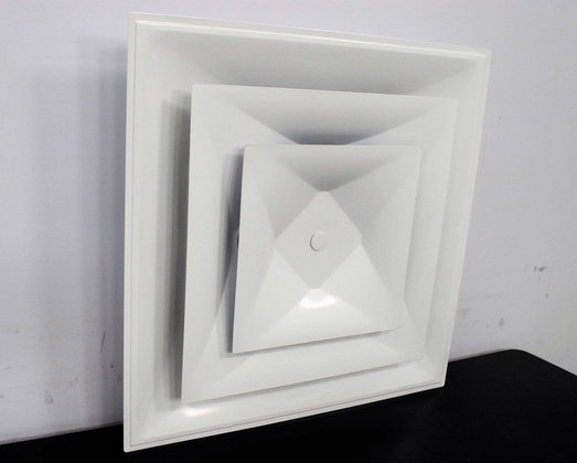 Suspended Ceiling Diffuser 24 X 24 With 10 Round