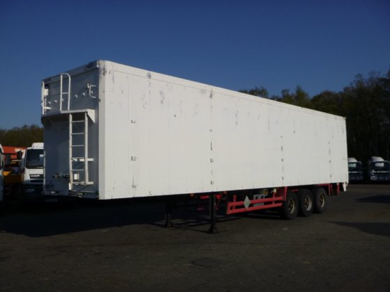 Stas Walking floor trailer alu 91.5 m3
