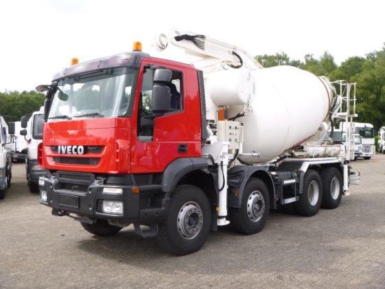 2008 Iveco AD410T45 8x4 pump/mixer 28 m in Hoogerheide, Netherlands