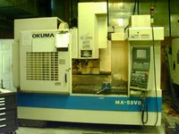 2000 Okuma MX-55VA Vertical Machining