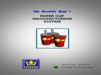 Regent(Korea) DS/SB/JW/TG-Series Paper Cup Making