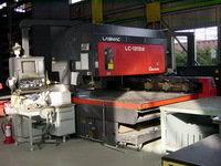 Amada LC-1212αII Laser Cutter in