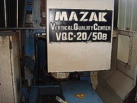 1983 Mazak VQC-20/50B Double Column