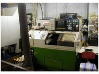 Mazak QT-8 CNC Lathe in