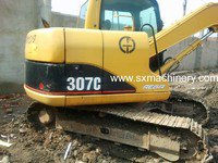 CAT 307C Excavator in Shanghai,