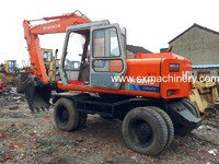 Hitachi EX100WD Excavator in Shanghai,