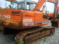 1990 Hitachi EX100,EX120,EX200 Excavator in
