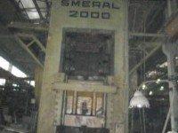 1971 Smeral LL2000 2000T Press