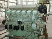 2009 Mitsubishi S12R-MPTA Marine Engine