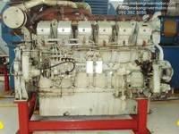 2001 Mitsubishi S12R-MPTK Marine Engine