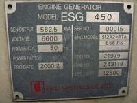 Mitsubishi S12A2-PTA 562kva Diesel Generator