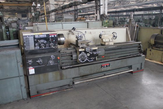 JET GH-1880 ZX Lathe in Yekaterinburg, Russia
