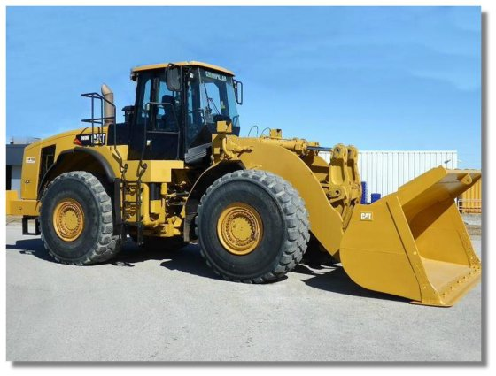 2007 CAT 980H WHEEL LOADER in London, Ontario, Canada