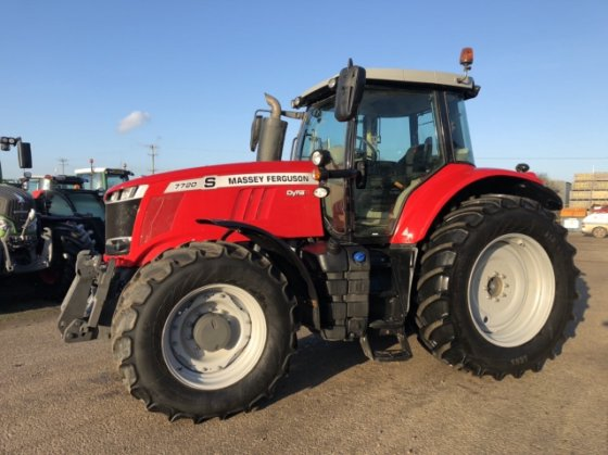 2018 Massey Ferguson 7720 MA499907 in Grantham, United Kingdom