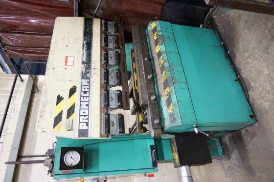Promecam PPH 25 12B Hydraulic Press Brake 2764 6 in Birmingham