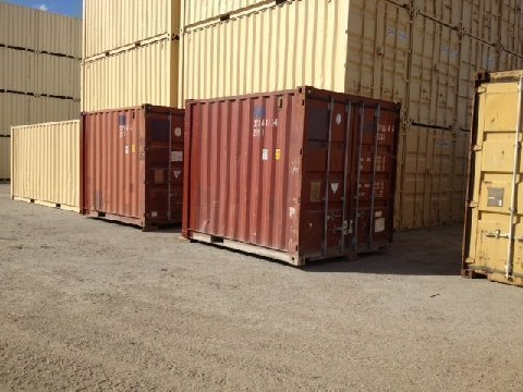 A PLUS 10' STEEL CONTAINERS