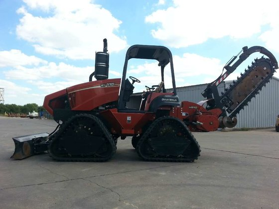 2012 Ditch Witch RT115 Quad