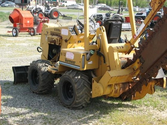 2002 Vermeer V3550A Trenchers in