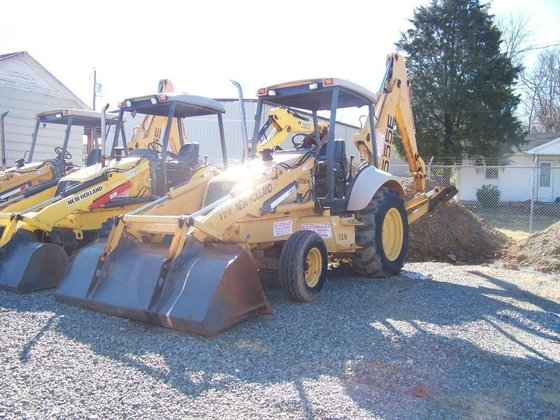 New Holland 555E Backhoes in