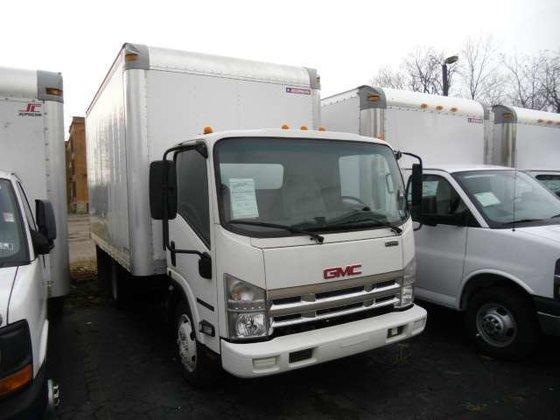 2008 GMC W5500 Box truck