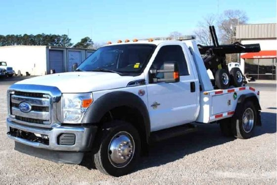 2011 FORD F450 WRECKER TOW
