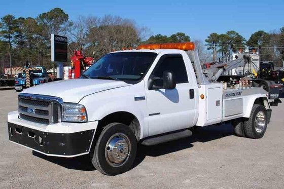2002 FORD F550 WRECKER TOW